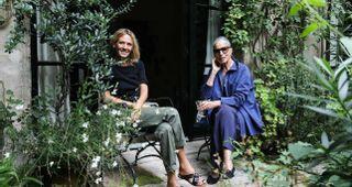 Marie-France and Stéphanie Cohen
